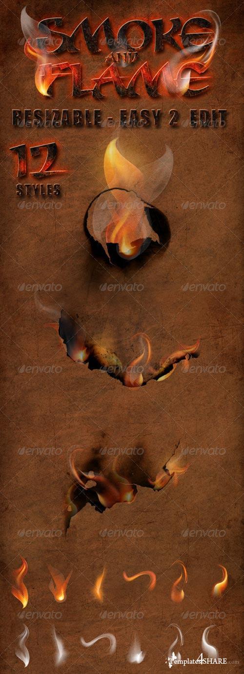 GraphicRiver Smoke and Flames