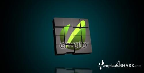 Logo Cubes Transformation - Project for After Effects (VideoHive)