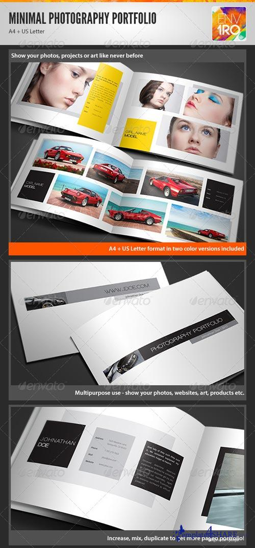 GraphicRiver Minimal Portfolio Brochure, Creative Booklet