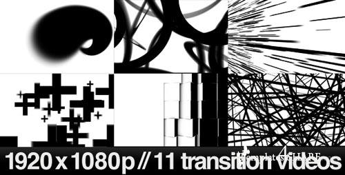 11 HD Transitions Bundle - D - Motion Graphics (VideoHive)