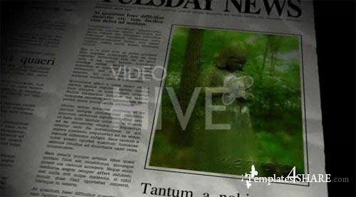 The Newspaper - Project for After Effects (VideoHive)