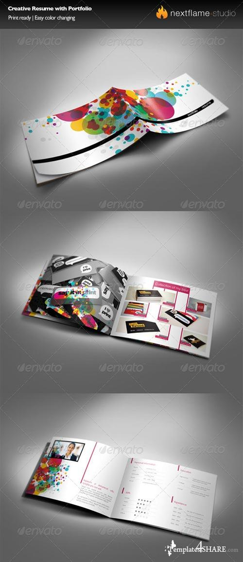 GraphicRiver Creative Resume with Portfolio