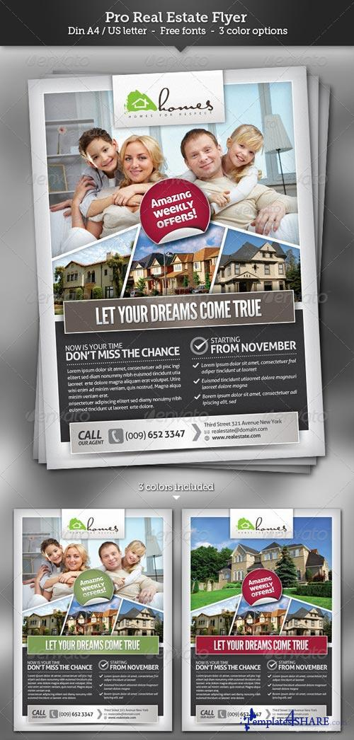 GraphicRiver Pro Real Estate Flyer Template