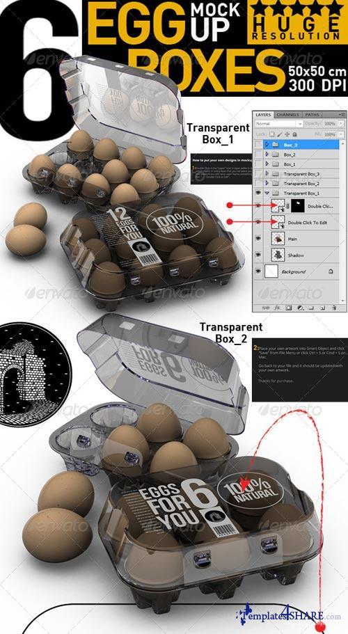 GraphicRiver Egg Boxes