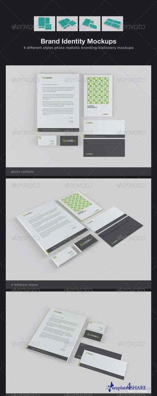GraphicRiver Brand Identity Mockups