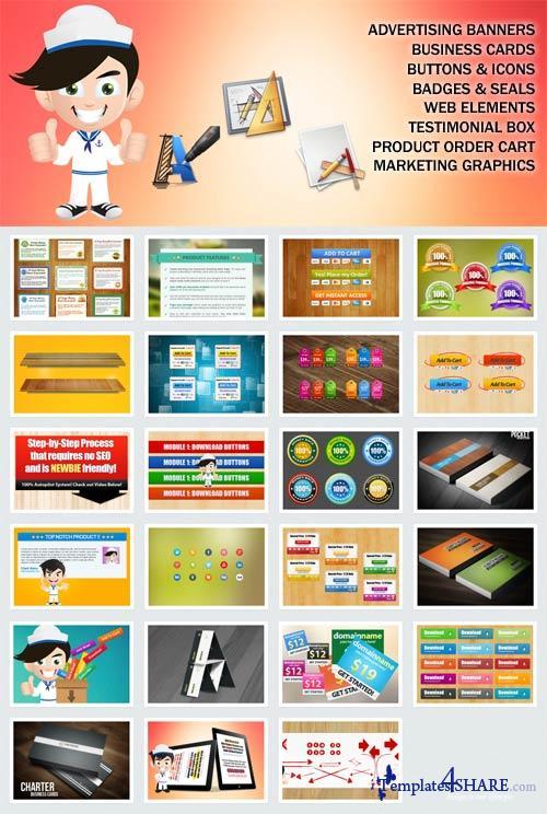 WSO Graphic Kit - Premium Graphic Membership