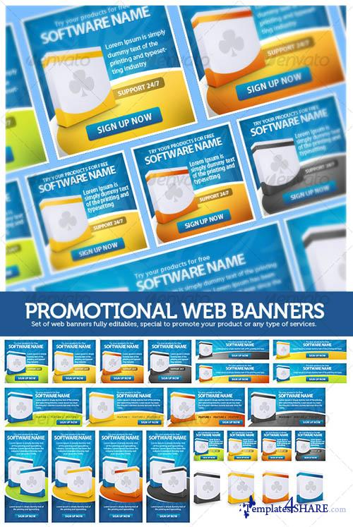 GraphicRiver Web Banners Promotional