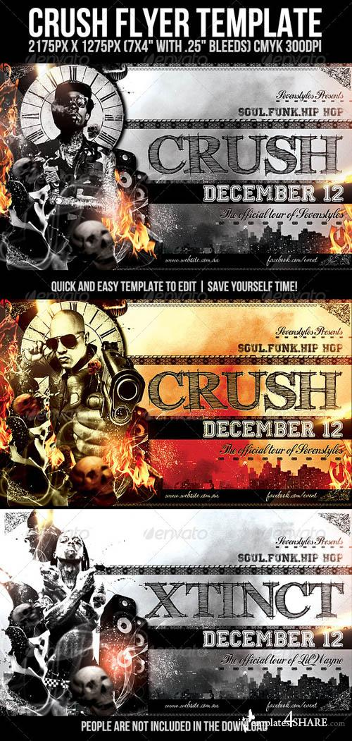 GraphicRiver Crush Party Flyer