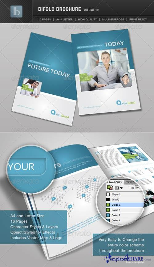 GraphicRiver Bifold Brochure | Volume 10