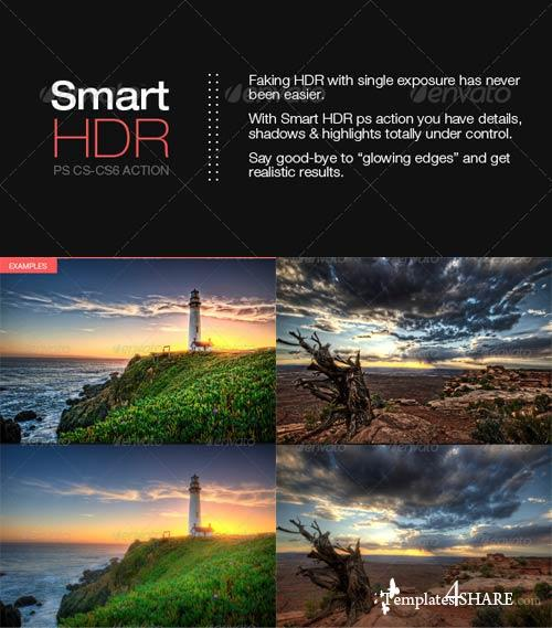 GraphicRiver Smart HDR - Photoshop action
