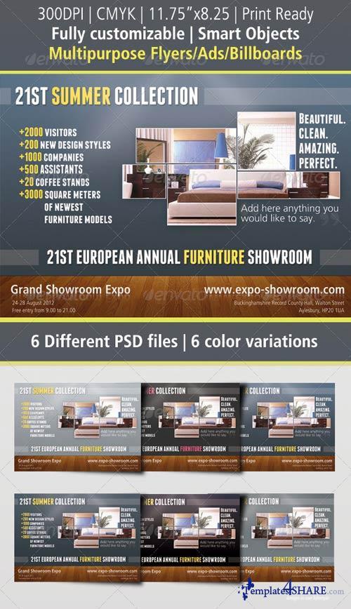 GraphicRiver Multipurpose Flyer Ad / Billboard