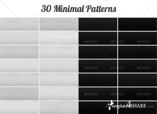 GraphicRiver Tileable Minimal Patterns 2