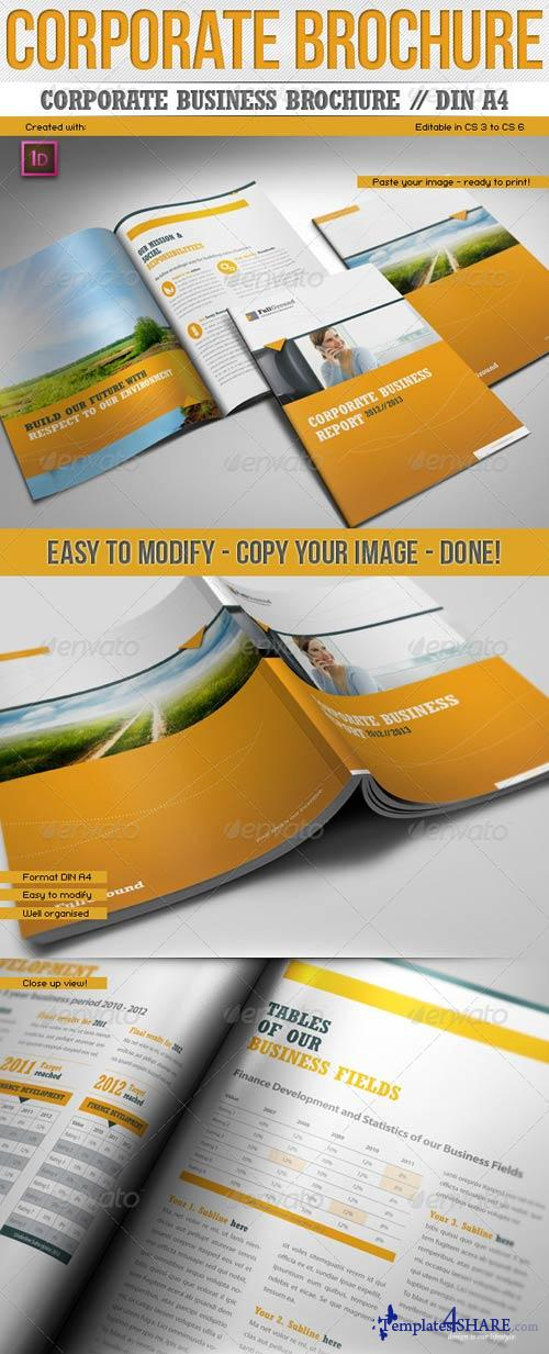 GraphicRiver Corporate Business Report // Din A4 // Premium