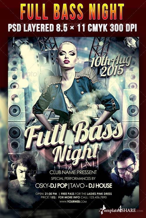 GraphicRiver Full Bass Night