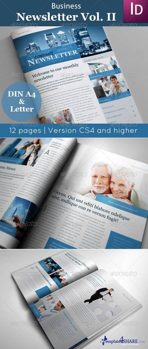 GraphicRiver Business Newsletter Vol. II