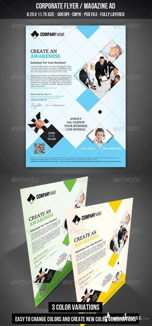 GraphicRiver Corporate Flyer / Magazine AD