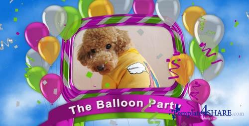 The Balloon Party - Project for After Effects (VideoHive)