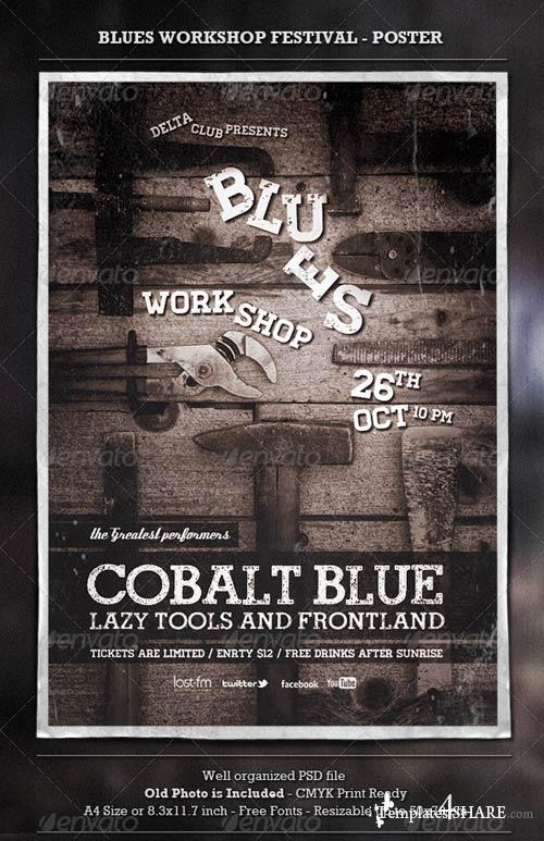 GraphicRiver Blues Workshop - Poster & Flyer