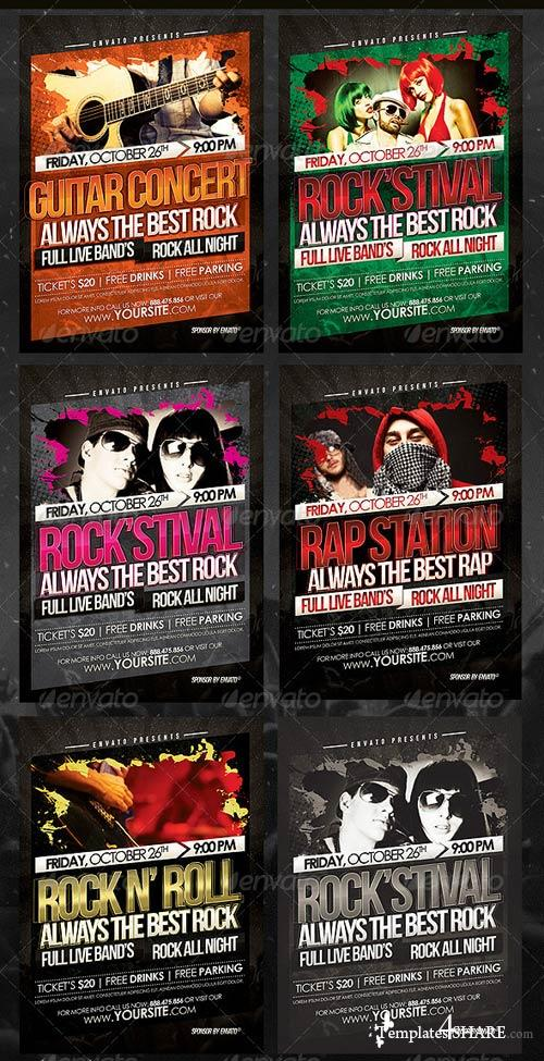 GraphicRiver Artist Concert Flyer Template