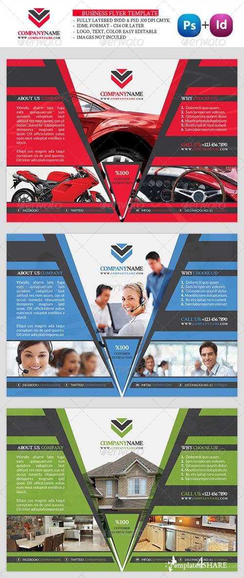 GraphicRiver Business Flyer Template Vol6
