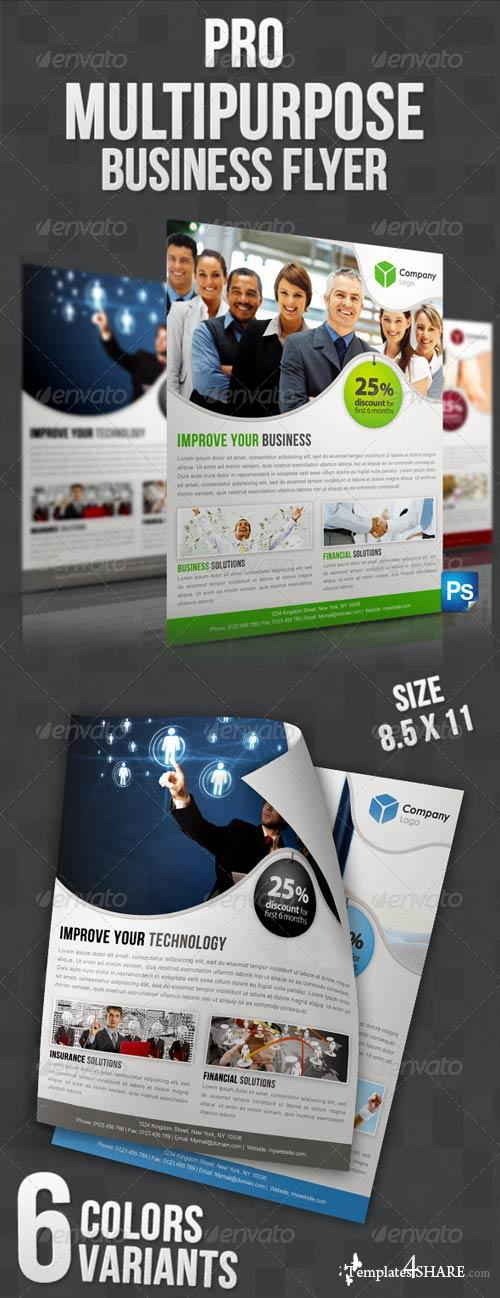 GraphicRiver Pro Multipurpose Business Flyer