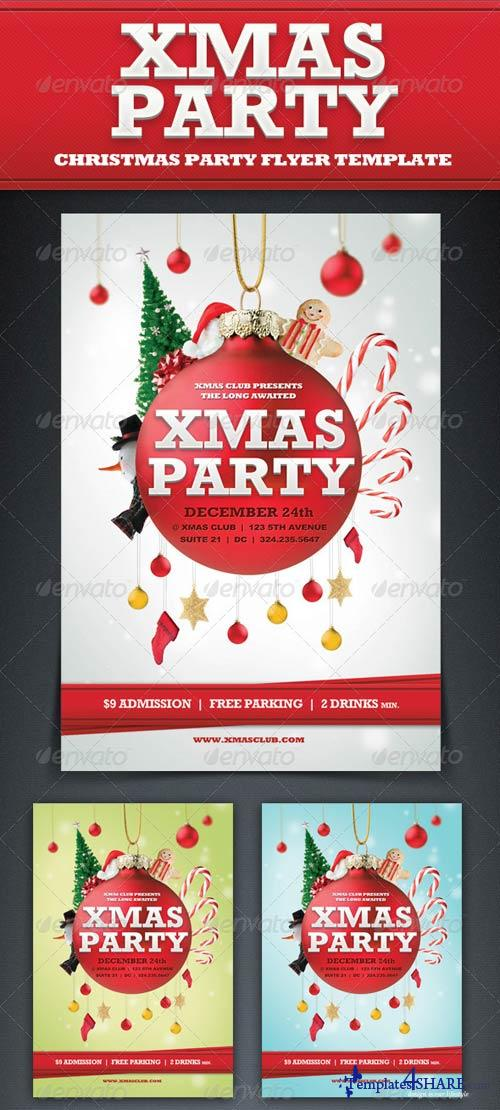 GraphicRiver Xmas Party Flyer Template