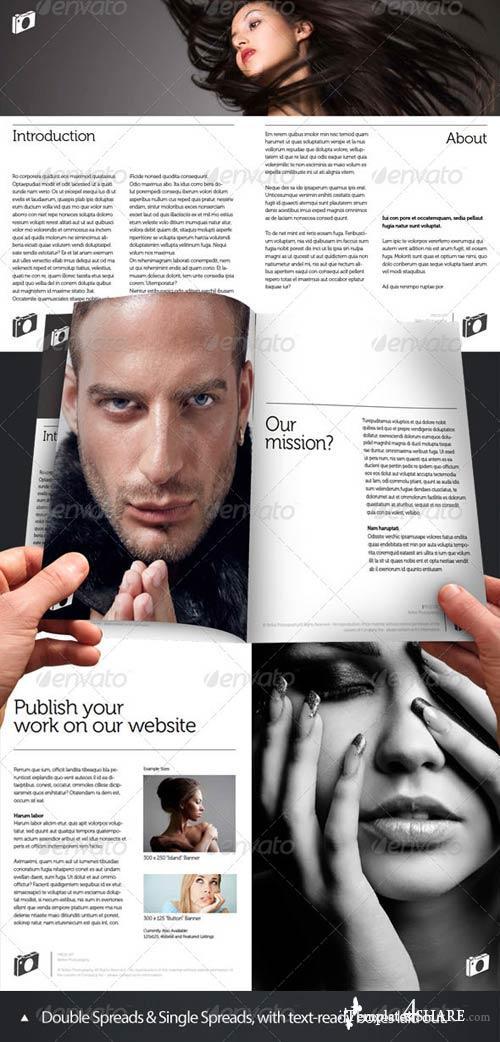 GraphicRiver Press-Kit Style Brochure Design