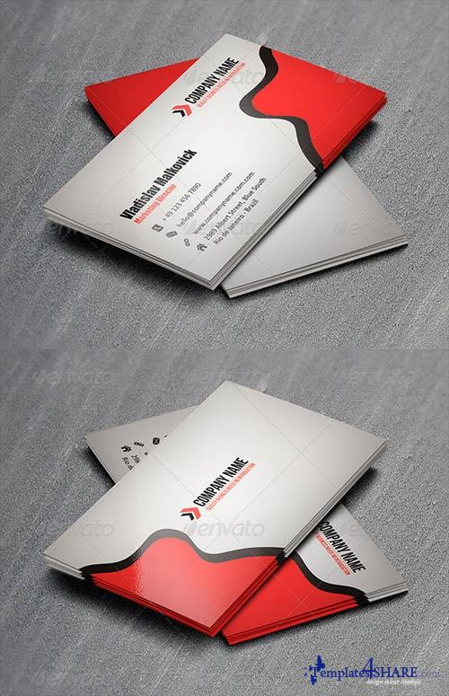 GraphicRiver Corporate Business Card 10