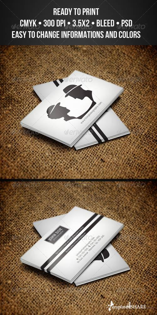GraphicRiver Photography Business Cards