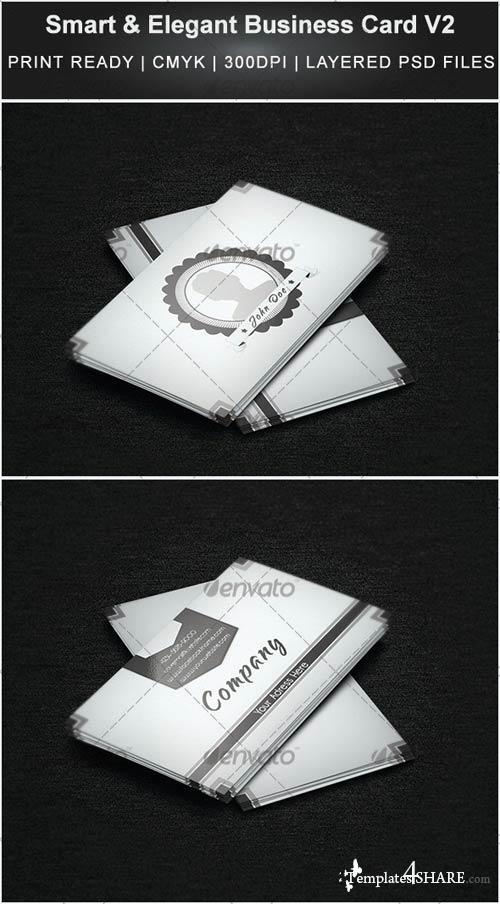 GraphicRiver Smart & Elegant Business Card V2