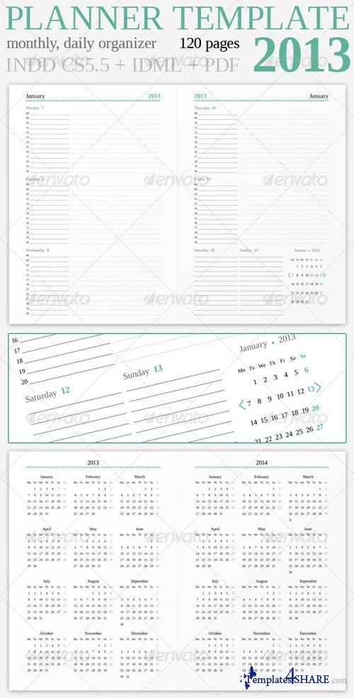GraphicRiver Planner 2013