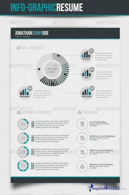 GraphicRiver Info graphic CV