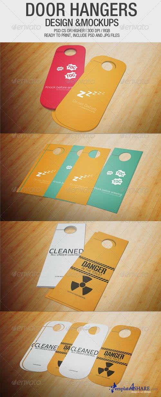 GraphicRiver Door Hangers