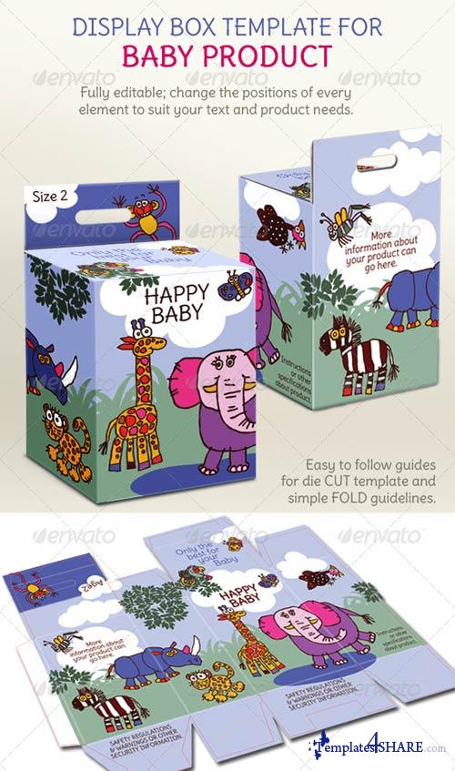 GraphicRiver Baby Product Box; Children's Illustrations