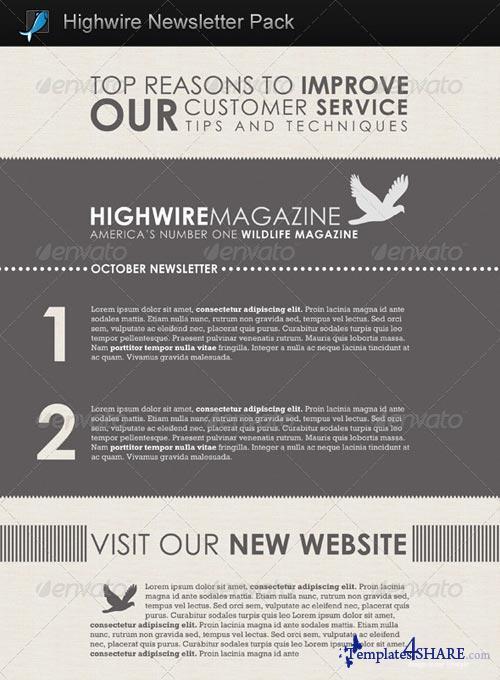 GraphicRiver Highwire Newsletter