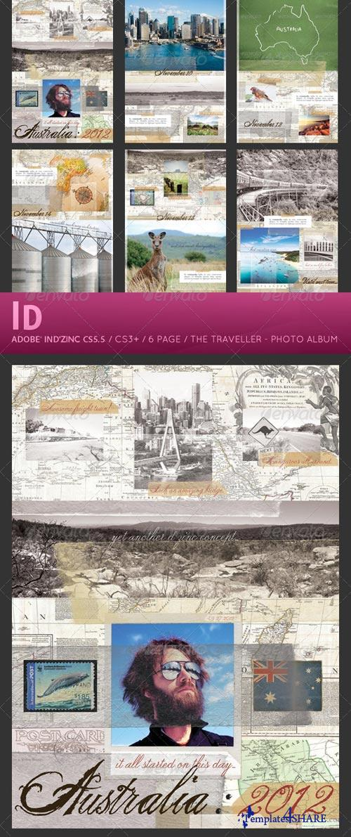 GraphicRiver The Traveller - Photo Album