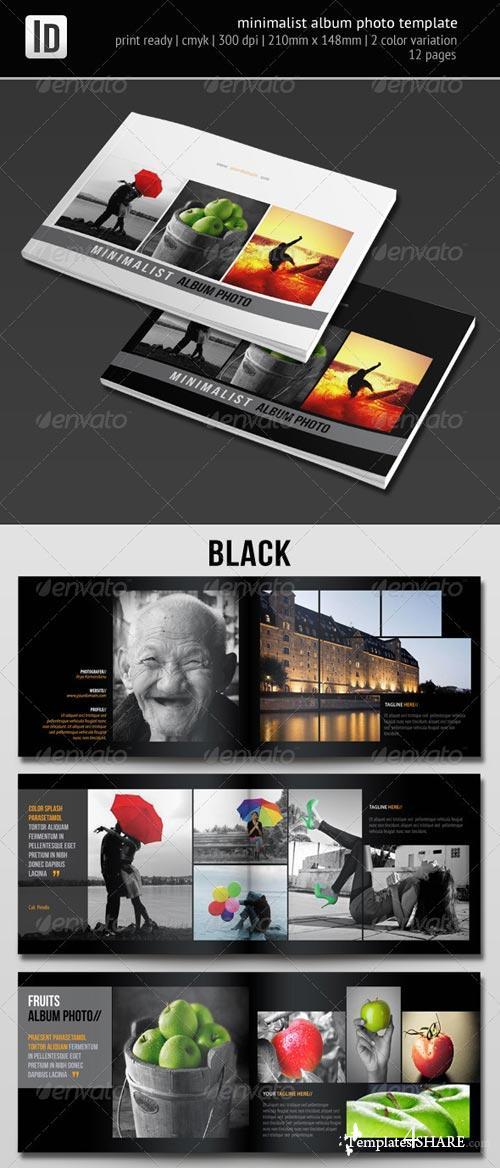 GraphicRiver Minimalist Album Photo Template