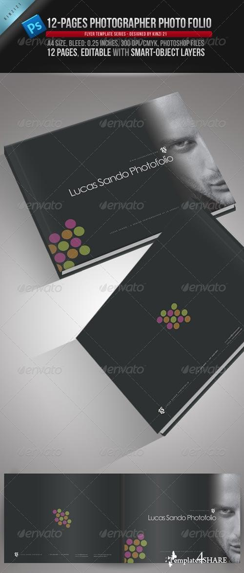 GraphicRiver 12-Pages Photographer Photofolio Template