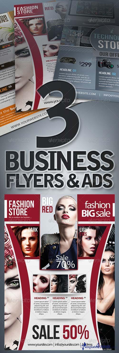 GraphicRiver Business Flyers Set Ver. 2.0