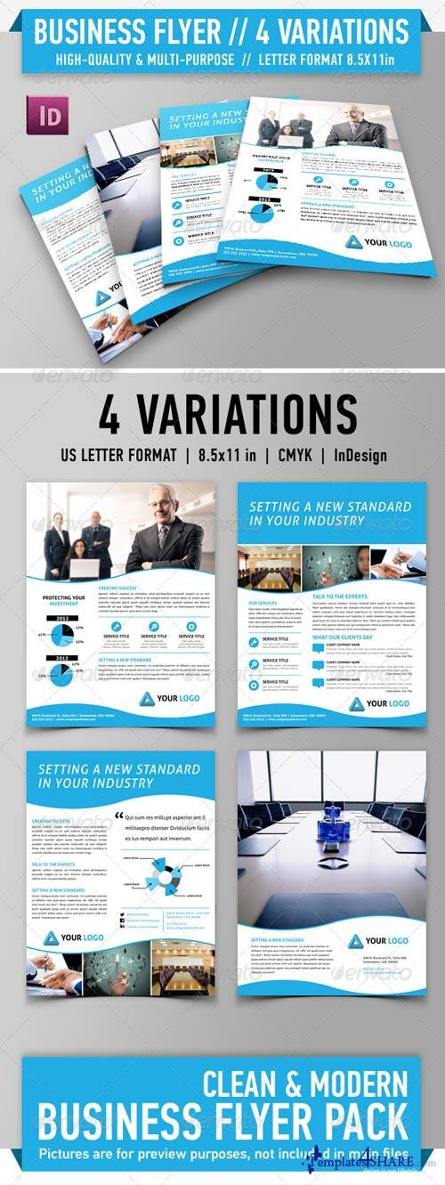 GraphicRiver Clean Modern Flyer Pack - Vol. 1