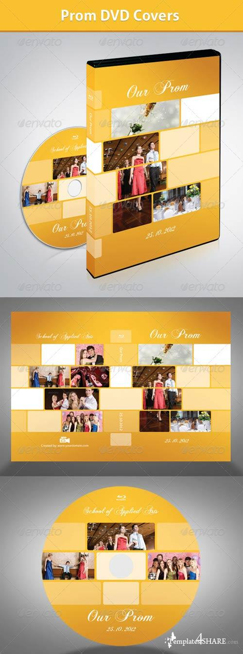 GraphicRiver Prom DVD Covers