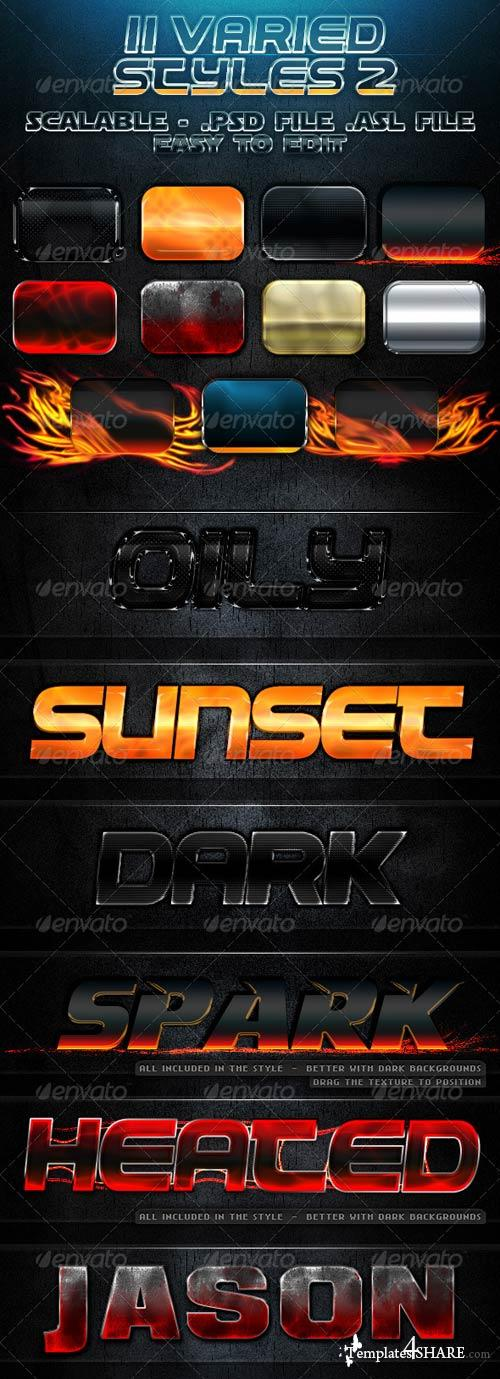GraphicRiver 11 Varied Styles 2