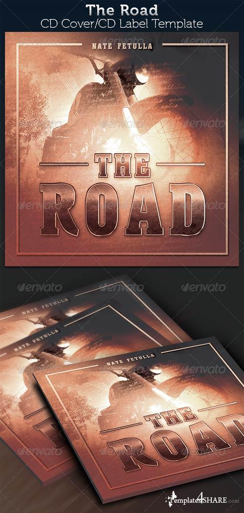 GraphicRiver The Road: CD Cover Artwork Template