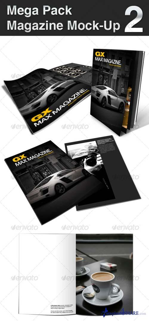GraphicRiver Mega Pack Magazine Mock-Up 2