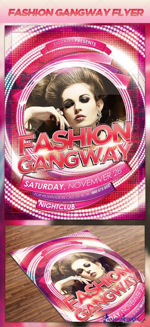 GraphicRiver Fashion Gangway Flyer