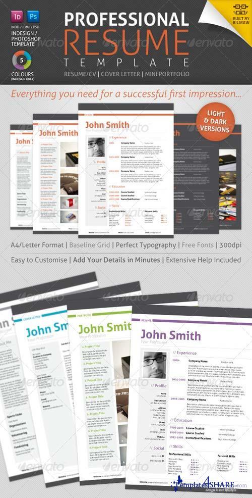 GraphicRiver Professional Resume/CV