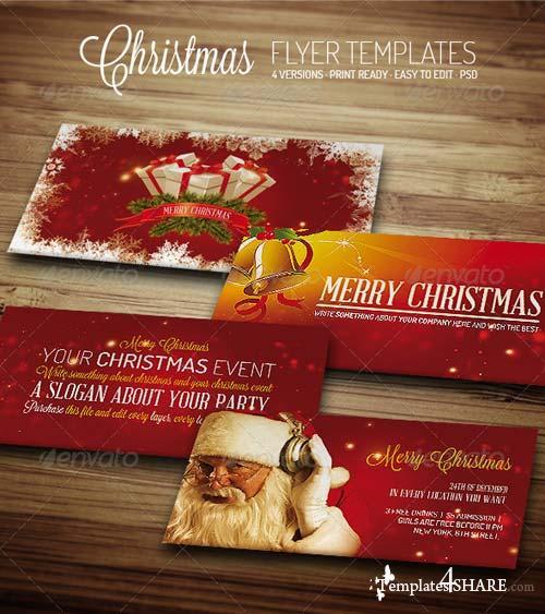 GraphicRiver Christmas III - Flyer Template