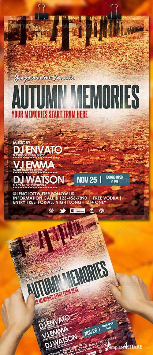 GraphicRiver Autumn Memories Flyer / Poster