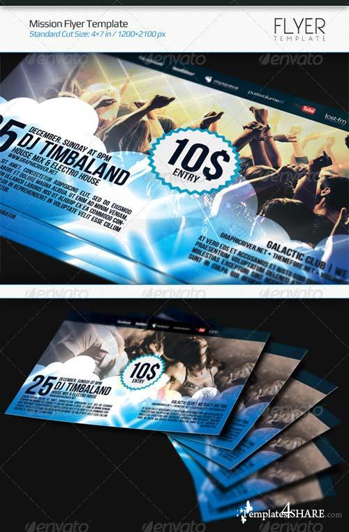 GraphicRiver Mission Flyer Template