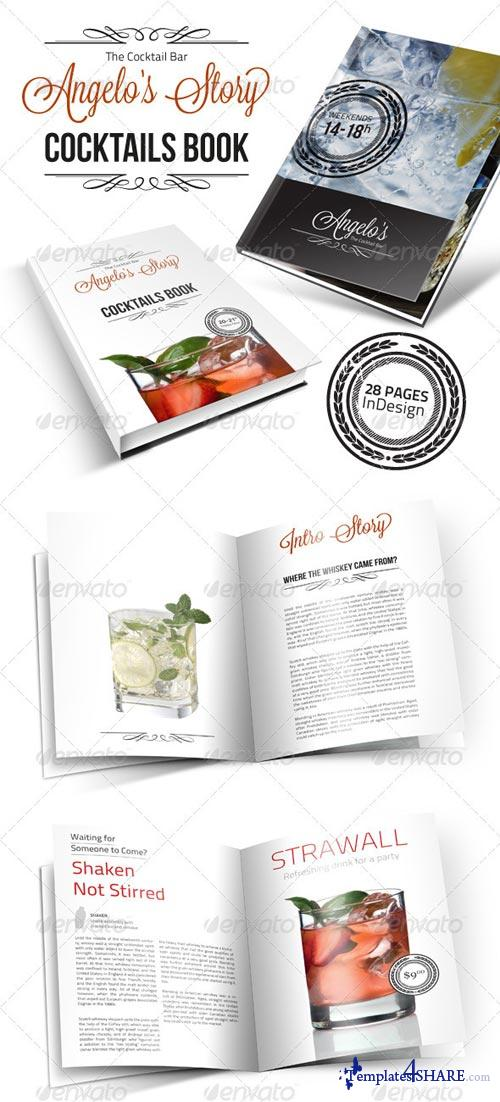 GraphicRiver Cocktail Book Menu